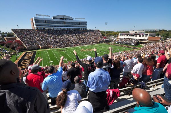 BB&T Field, home of the Wake Forest Demon Deacons