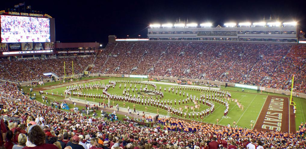 Doak Campbell Stadium, home of the Florida State Seminoles