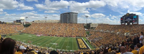 Kinnick Stadium, home of the Iowa Hawkeyes