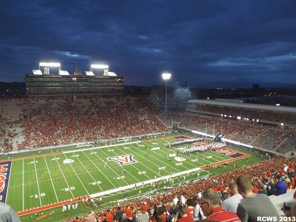Arizona Stadium, home of the Arizona Wildcats