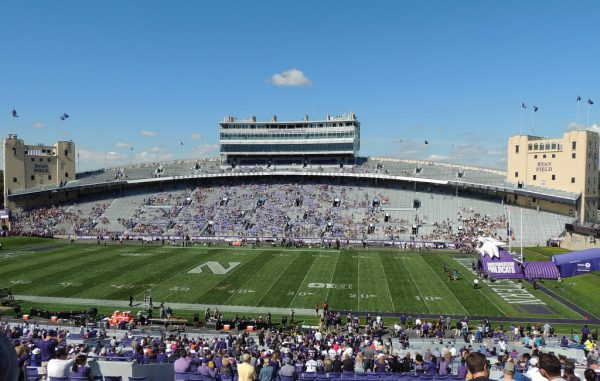 Ryan Field, home of the Northwestern Wildcats