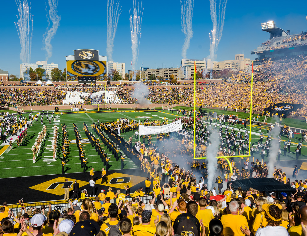Faurot Field, home of the Missouri Tigers