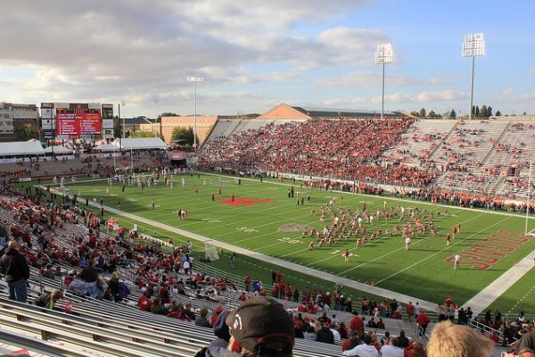 Martin Stadium, home of the Washington State Cougars