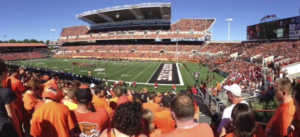 Reser Stadium, home of the Oregon State Beavers
