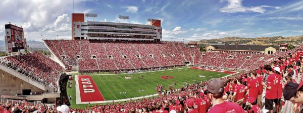 Rice Eccles Stadium, home of the Utah Utes