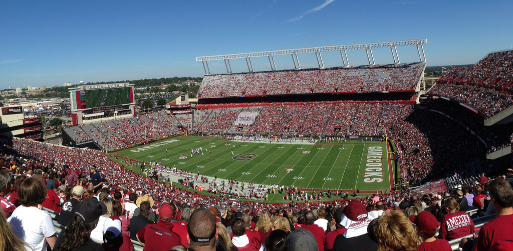 Williams Brice Stadium, home of the South Carolina Gamecocks