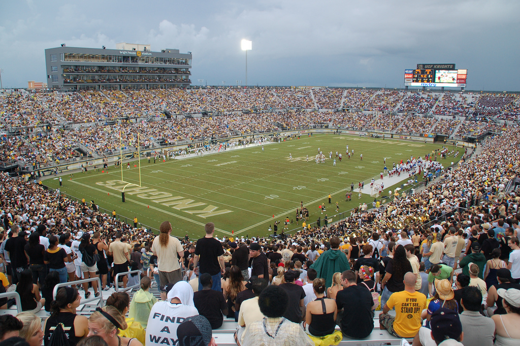 Bright House Networks Stadium, home of the UCF Knights