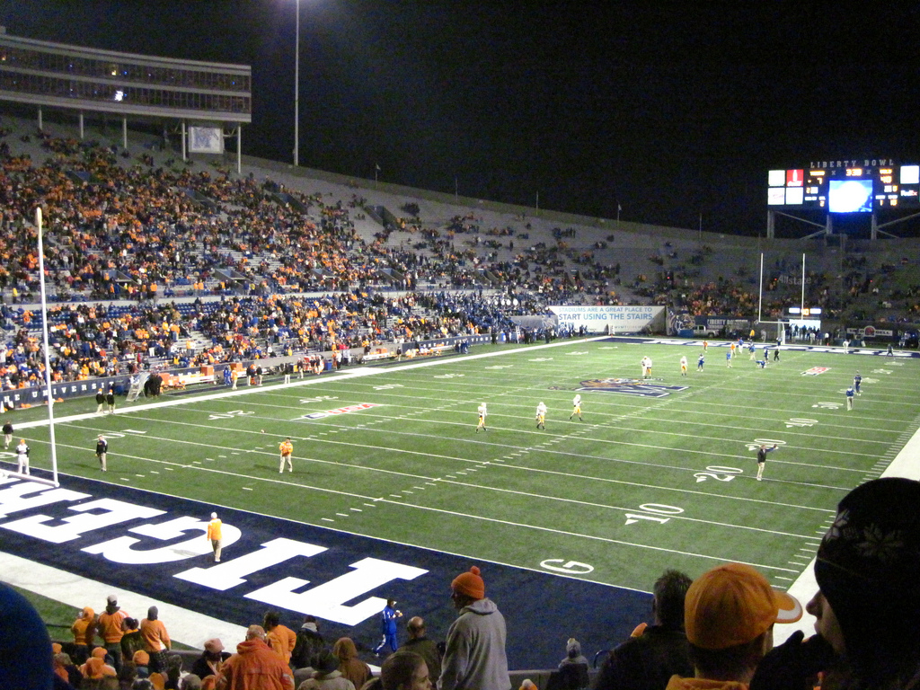 Liberty Bowl, home of the Memphis Tigers