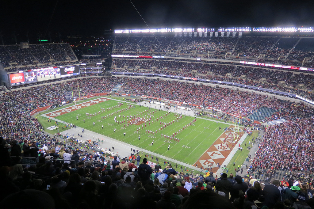 Lincoln Financial Field, home of the Temple Owls