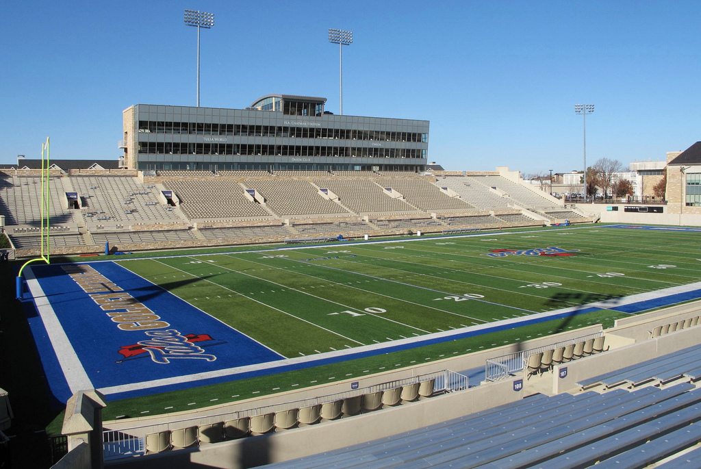 Skelly Stadium, home of the Tulsa Golden Hurricane