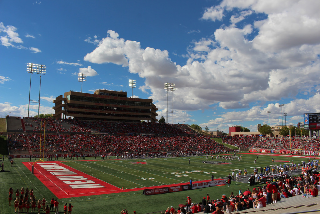 University Stadium, home of the New Mexico Lobos