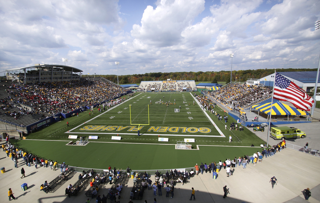 Dix Stadium, home of the Kent State Golden Flashes