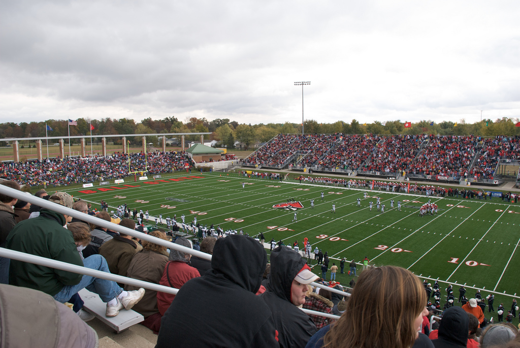 Scheumann Stadium, home of the Ball State Cardinals