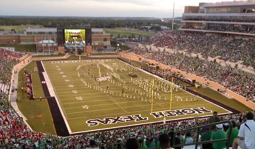 Apogee Stadium Facts Figures Pictures And More Of The North Texas Mean Green College Football Stadium
