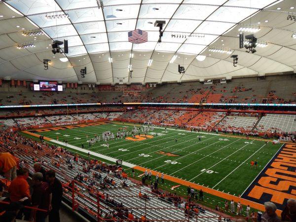 Carrier Dome, home of the Syracuse Orange