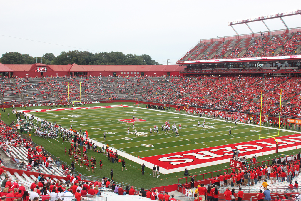 High Point Solutions Stadium, home of the Rutgers Scarlet Knights