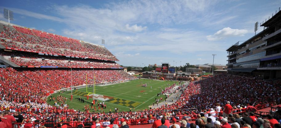 Maryland Stadium, home of the Maryland Terrapins