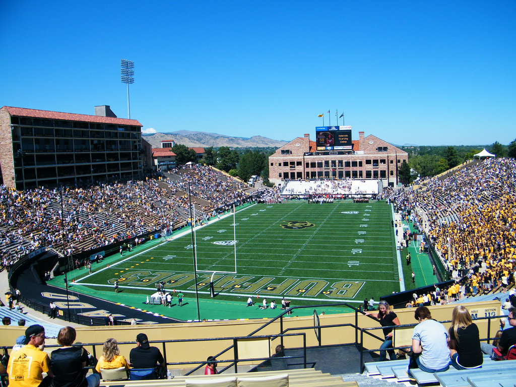 Folsom Field, home of the Colorado Buffaloes