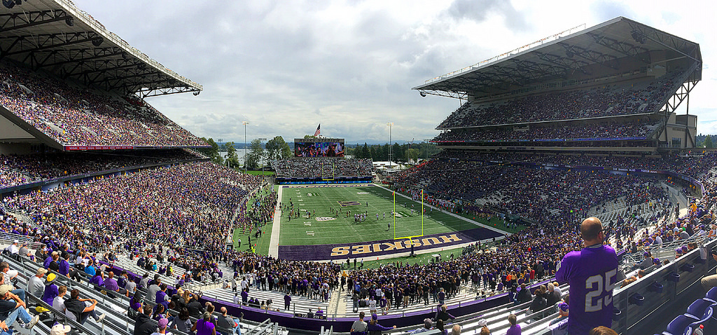 Husky Stadium, home of the Washington Huskies