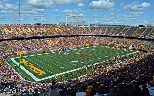 TCF Bank Stadium, home of the Minnesota Golden Gophers
