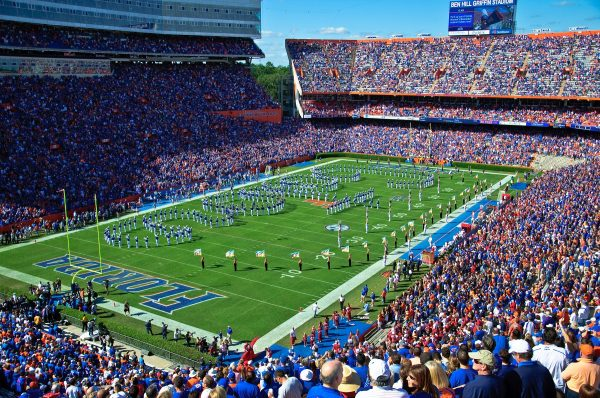 Ben Hill Griffin Stadium, home of the Florida Gators