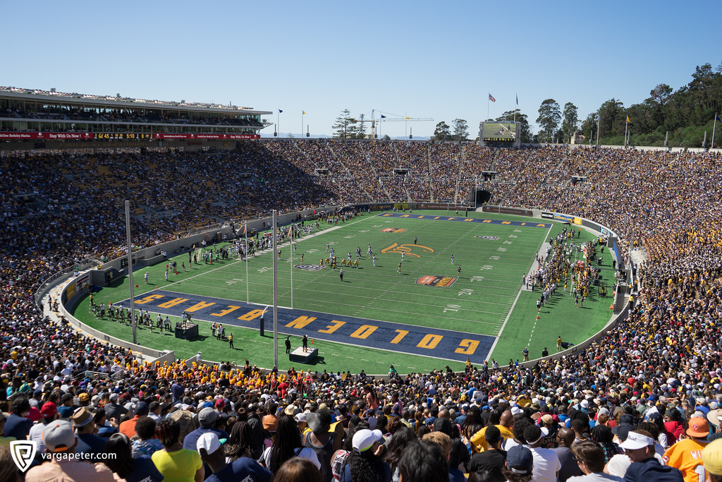 Cal Memorial Stadium, home of the Cal Golden Bears