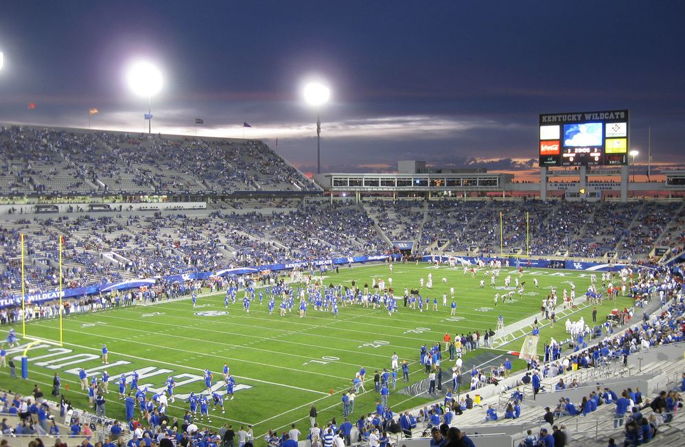 Kroger Field, home of the Kentucky Wildcats