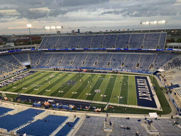 Kroger Field, home of the Kentucky Wildcats