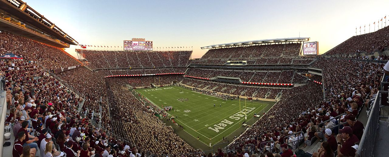 Kyle Field, home of the Texas A&M Aggies