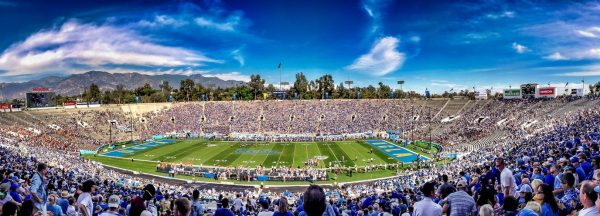 Rose Bowl Stadium, home of the UCLA Bruins