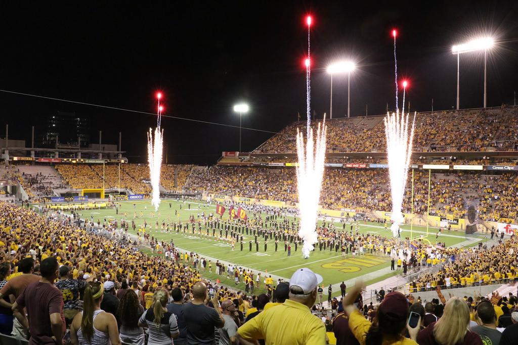 Sun Devil Stadium, home of the Arizona State Sun Devils