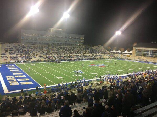 Skelly Field at Chapman Stadium, home of the Tulsa Golden Hurricane
