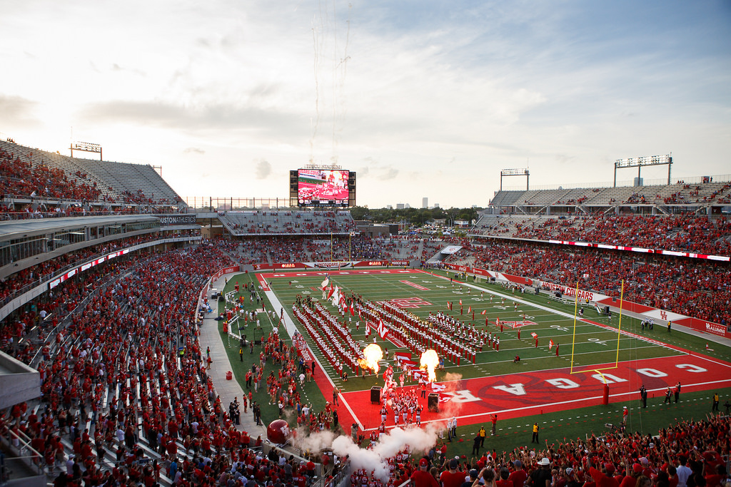 Houston Cougars at TDECU Stadium