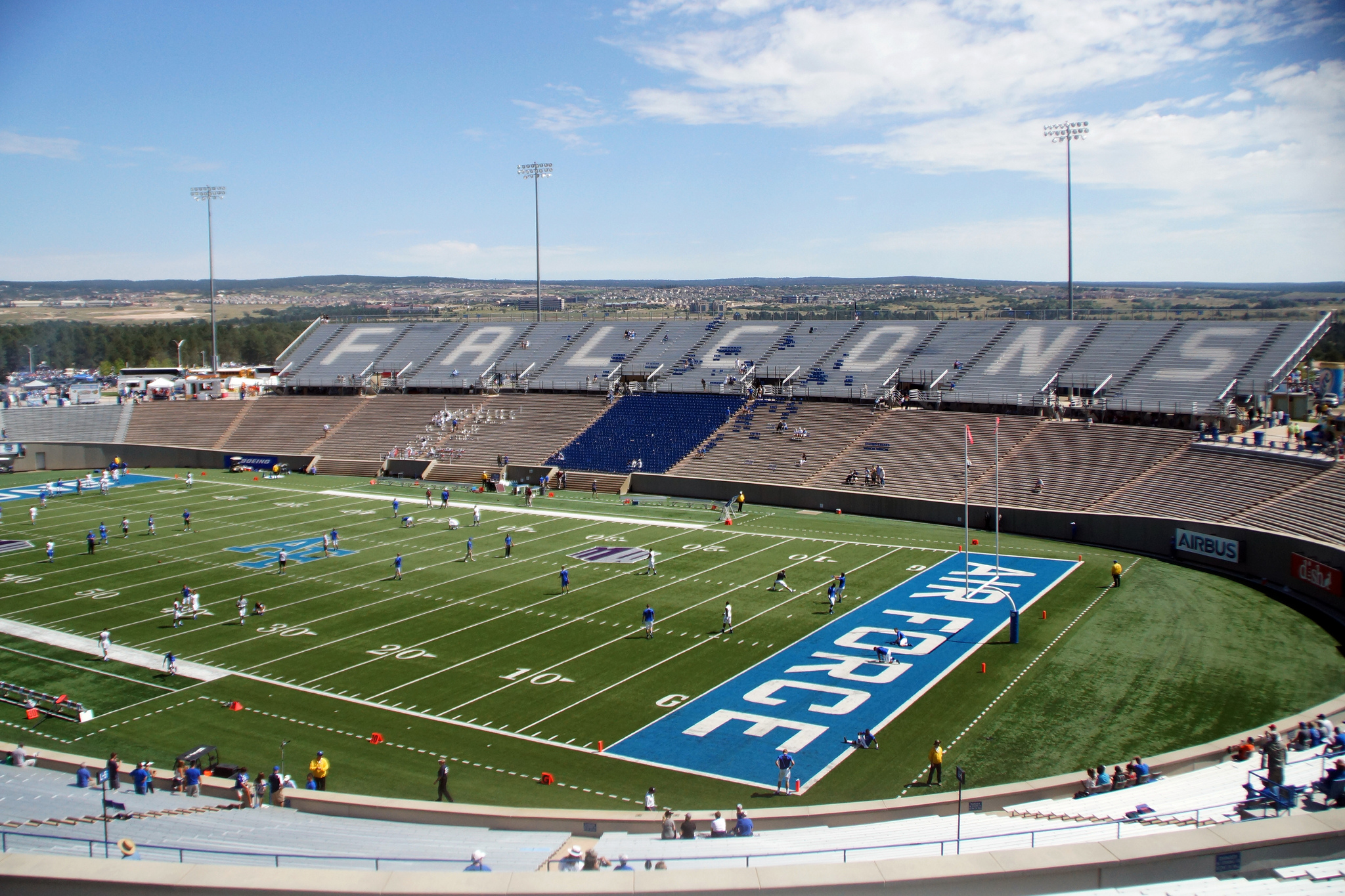 Falcon Stadium, home of the Air Force Falcons