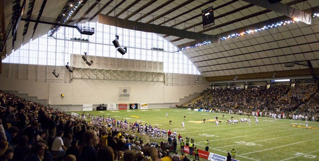 Kibbie Dome, home of the Idaho Vandals