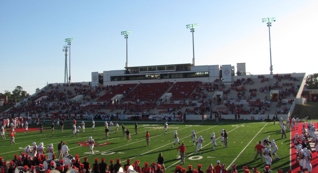 Ladd Peebles Stadium, home of the South Alabama Jaguars