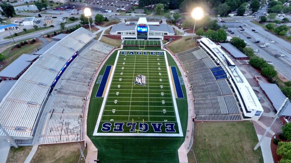 Paulson Stadium, home of the Georgia Southern Eagles
